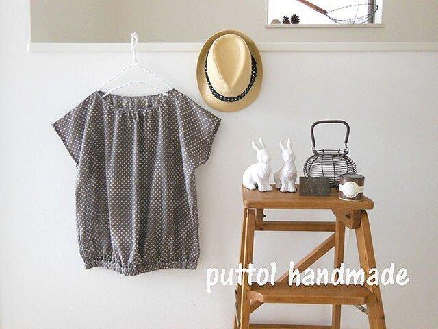 soldout B品プリントミス♪フレンチプルオーバーシャツの画像1枚目