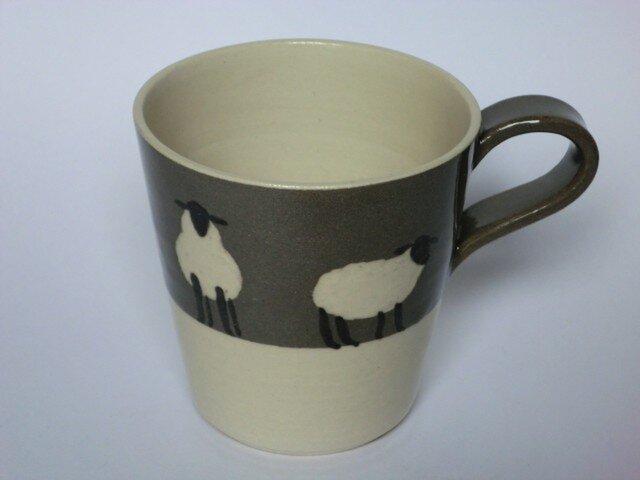 ひつじのマグカップの画像1枚目