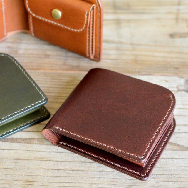 二つ折り財布「Curve」の画像1枚目
