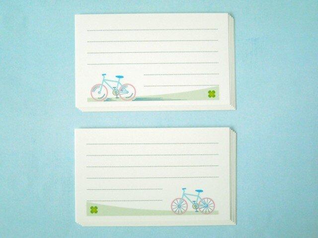 自転車カード 10枚セットの画像1枚目