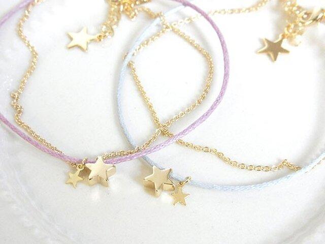 星降るブレスレット tiny starの画像1枚目