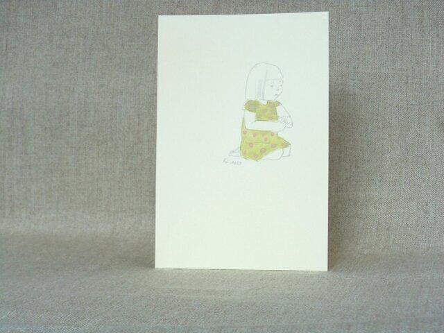 手描きポストカード No.0033の画像1枚目