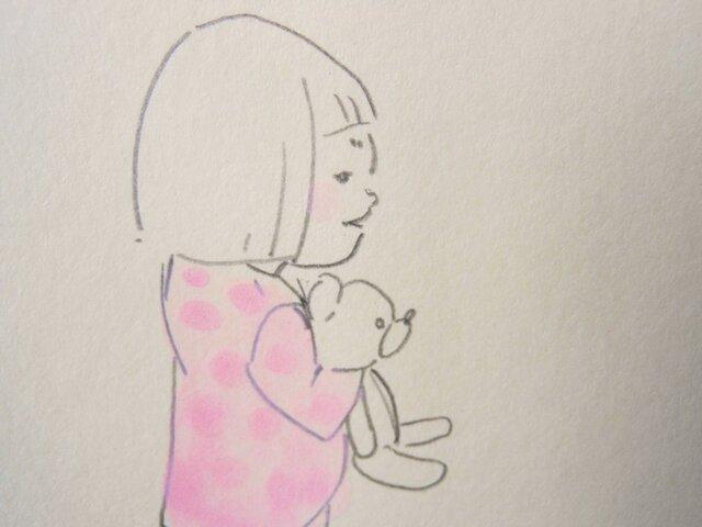 手描きポストカード No.0001の画像1枚目