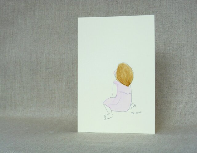 手描きポストカード No.0020の画像1枚目
