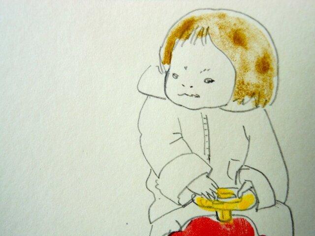 手描きポストカード No.0021の画像1枚目