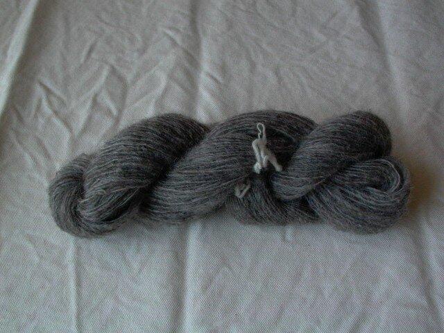 ゴットランド手紡ぎ毛糸50gの画像1枚目