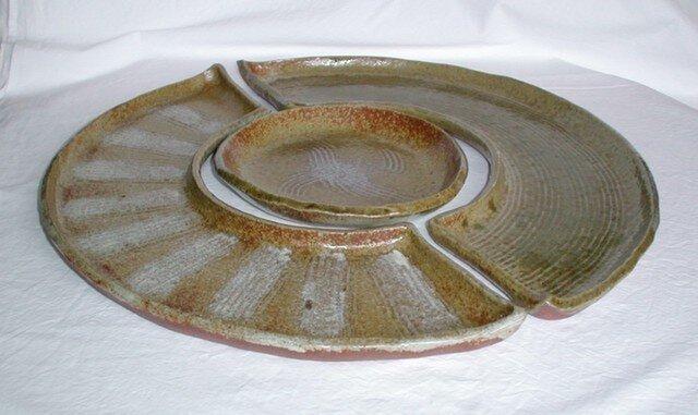 セットでお得! 分割円形皿(S-12)の画像1枚目