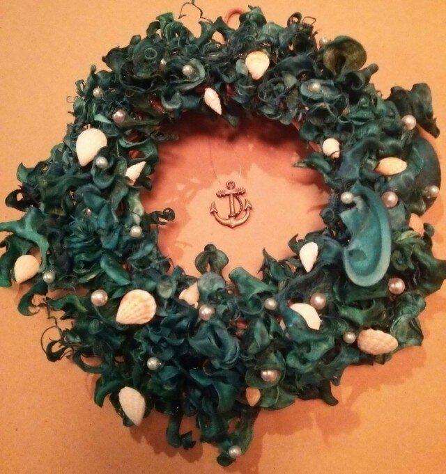 貝殻のリース  <Shell Wreath>の画像1枚目