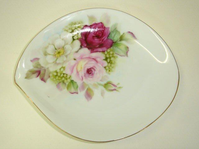 薔薇のしずく皿(2)の画像1枚目