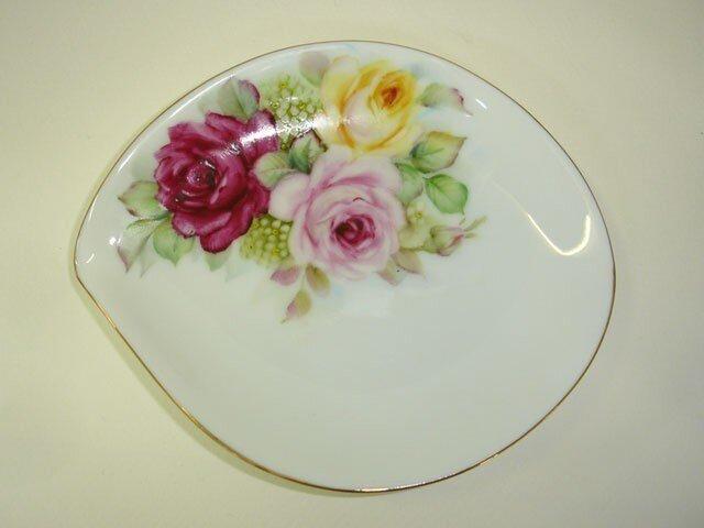 薔薇のしずく皿(3)の画像1枚目