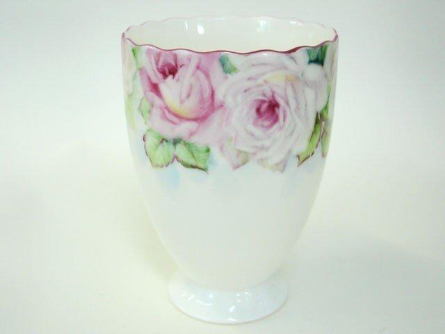 薔薇のフリーカップ1 津下葉子 ハンドメイド通販 Iichiいいち
