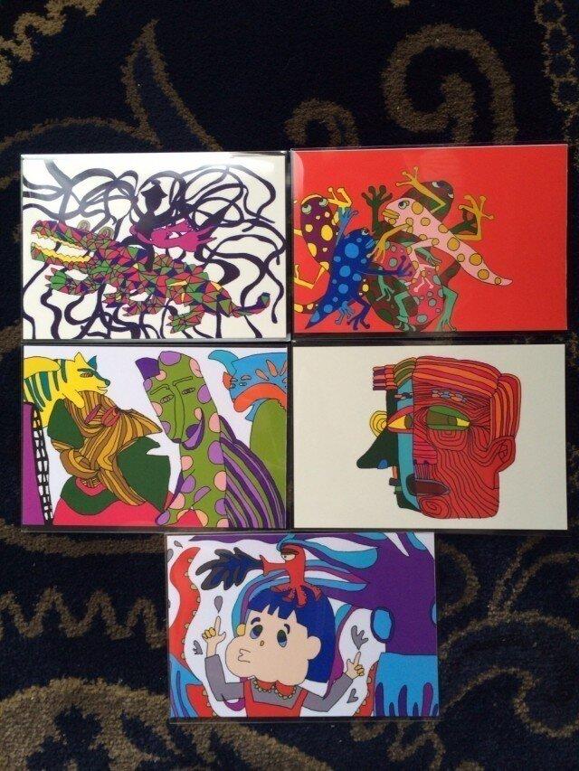 ポストカード5枚組の画像1枚目