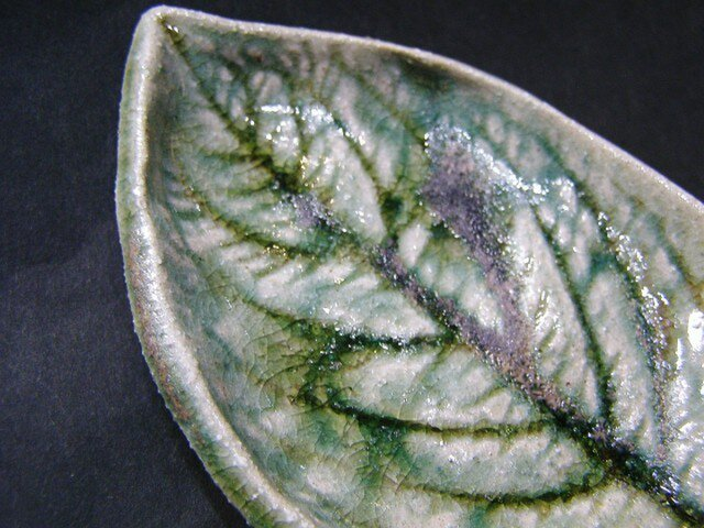 木の葉陶板(5枚組)の画像1枚目