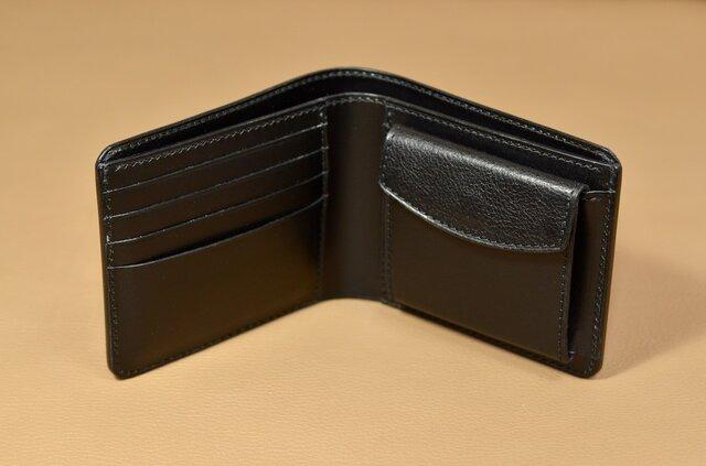 【お好きな色で製作】イタリアンレザー の二つ折り財布の画像1枚目