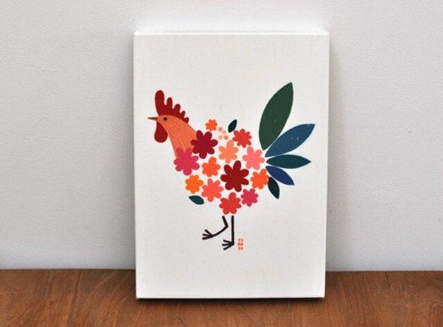 ファブリックパネル「Bird of bouquet」の画像1枚目