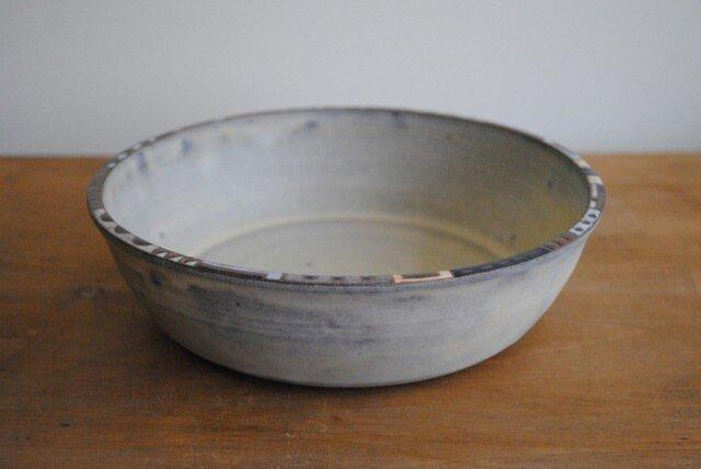 幾何学文様縁取り鉢の画像1枚目