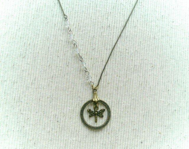 三好達治の「鹿」ネックレスの画像1枚目