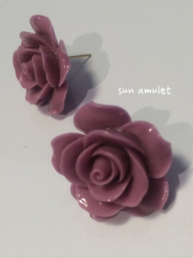Rose no ピアス シビラカラーの画像1枚目