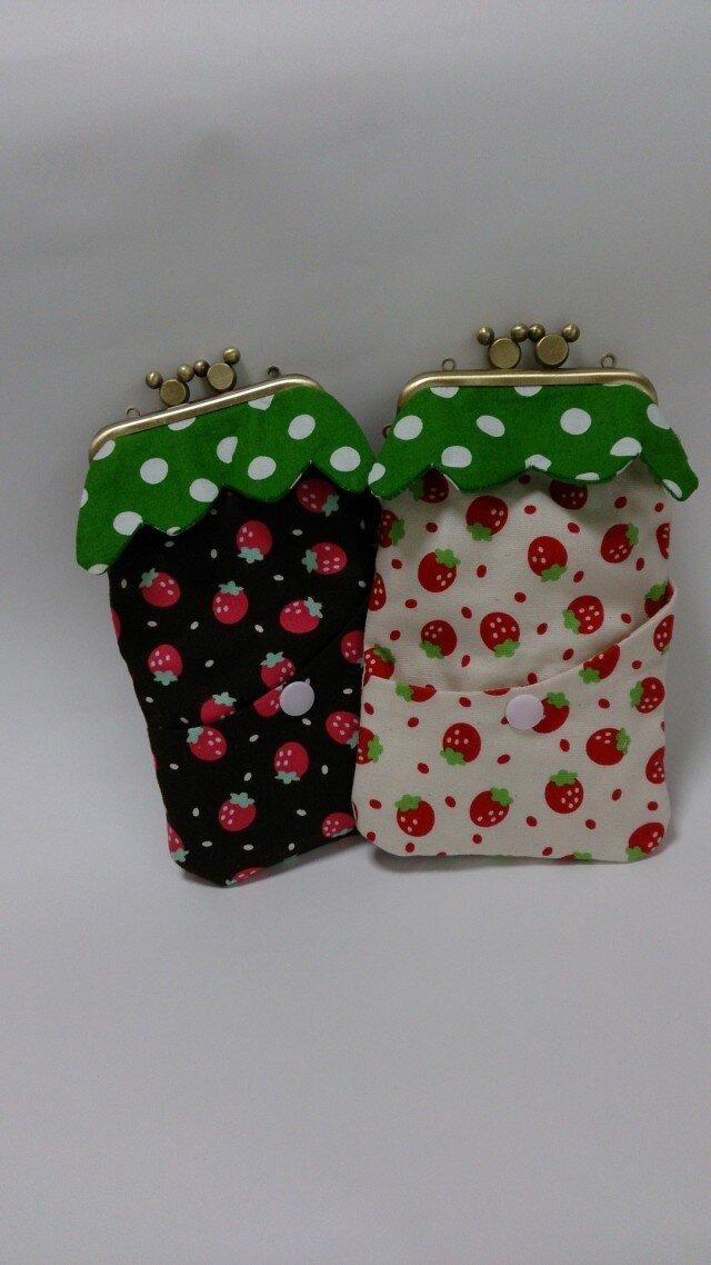 smart phone case (fraise brown)の画像1枚目