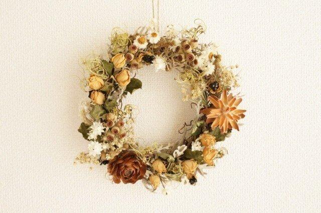 薔薇 木の実 wreathの画像1枚目
