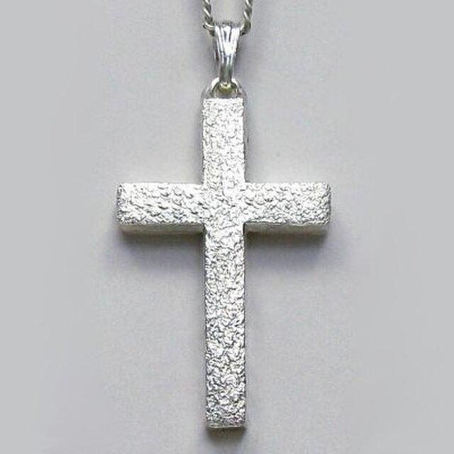 シンプルなラテン十字架 梨地光沢仕上げのラテン十字架 cc02 好評ですの画像1枚目