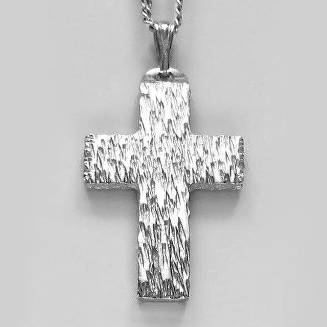 シンプルなラテン十字架 木肌光沢仕上げの幅広の小さなクロス cc19 好評ですの画像1枚目
