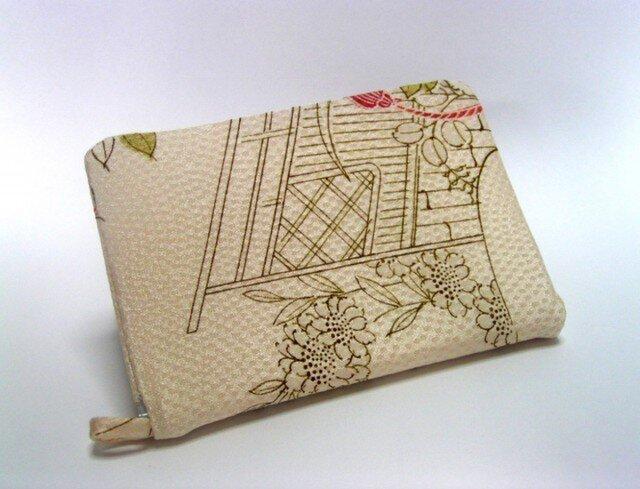 絹のカードファイル12ポケット ループ付き の画像1枚目