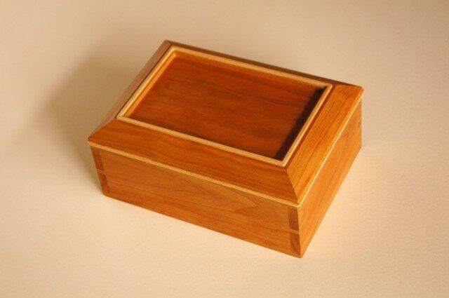 小箱 チェリー材の画像1枚目