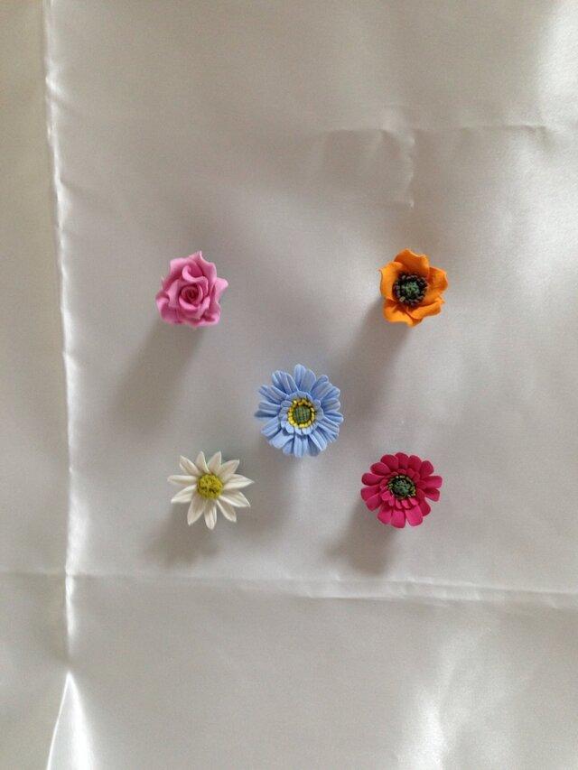 お花のマグネットの画像1枚目