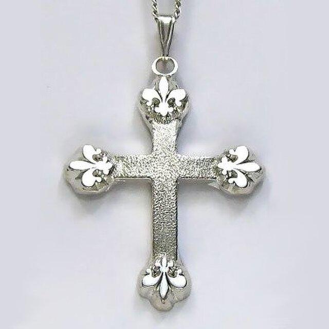 イエス・聖母マリア・教義・聖霊・使徒などを表した作品 アイリス(聖母の象徴)のクロス ac31 好評ですの画像1枚目