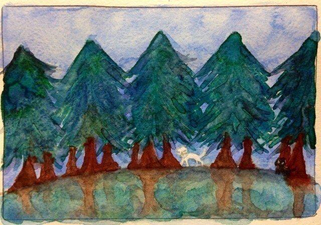 森のお散歩の画像1枚目