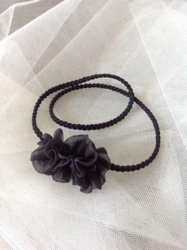 シルクオーガンジーの小花。。カチュームの画像1枚目