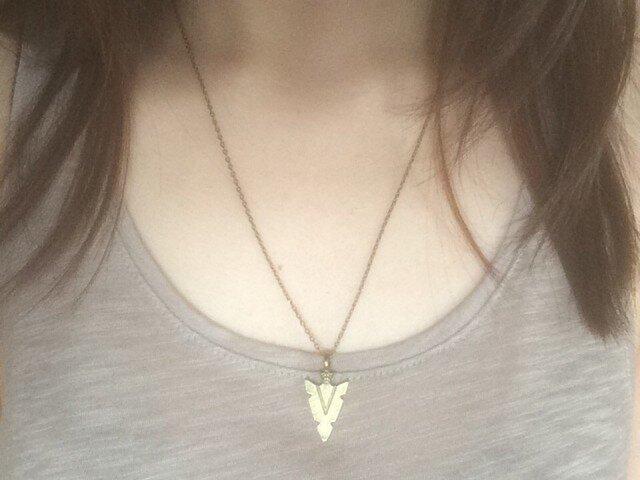 Arrowhead necklaceの画像1枚目