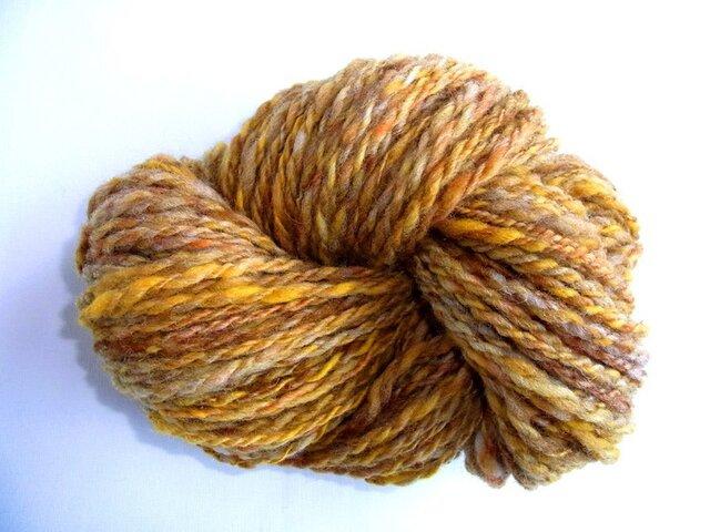 手紡ぎ糸 S462 95gの画像1枚目
