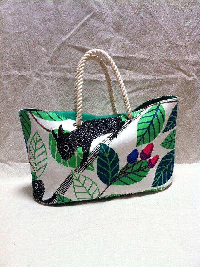 oval bottom bag -risu-の画像1枚目