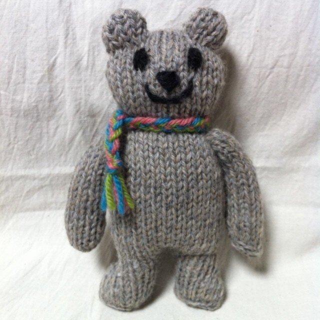 knit kuma woolの画像1枚目