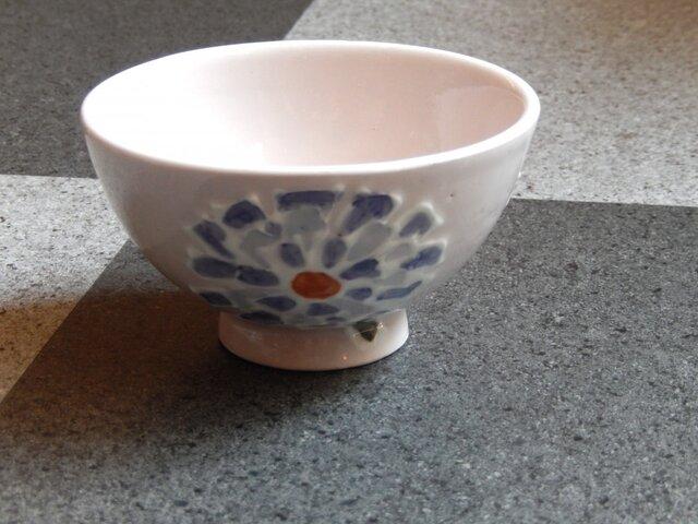 桜土のお茶碗(あじさい)の画像1枚目