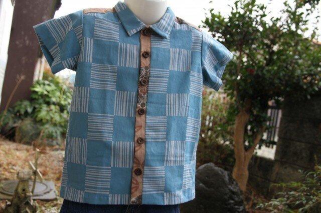手ぬぐいシャツ(100サイズ)の画像1枚目