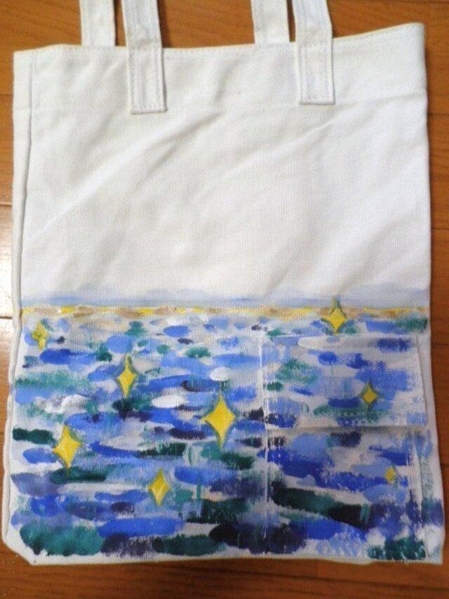 キャンバストート 海の画像1枚目