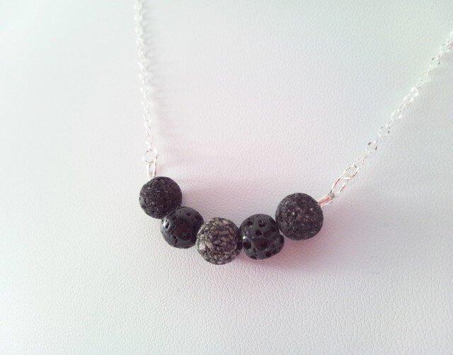 溶岩+Silver Necklace Sの画像1枚目