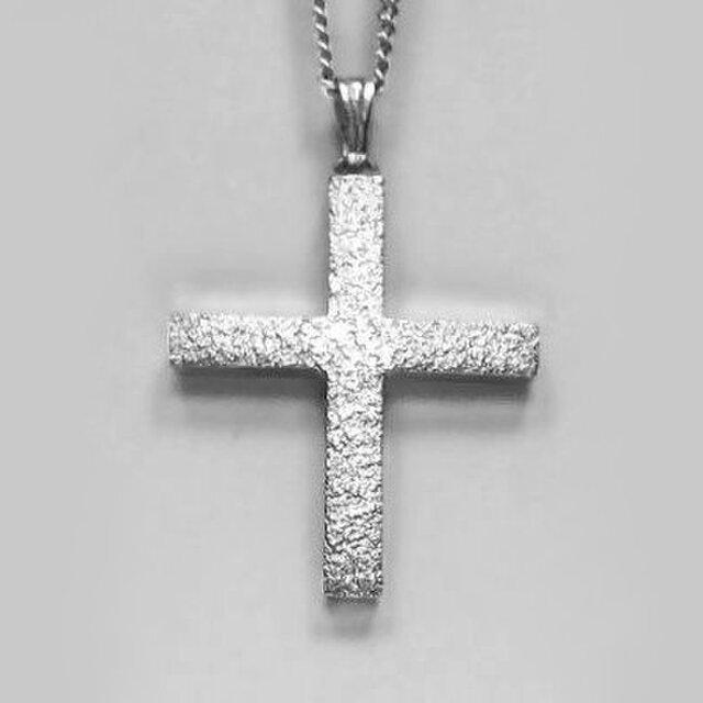 ギリシャ正教のクロス 梨地光沢仕上げの小さなギリシャ十字架 gc02b 好評ですの画像1枚目