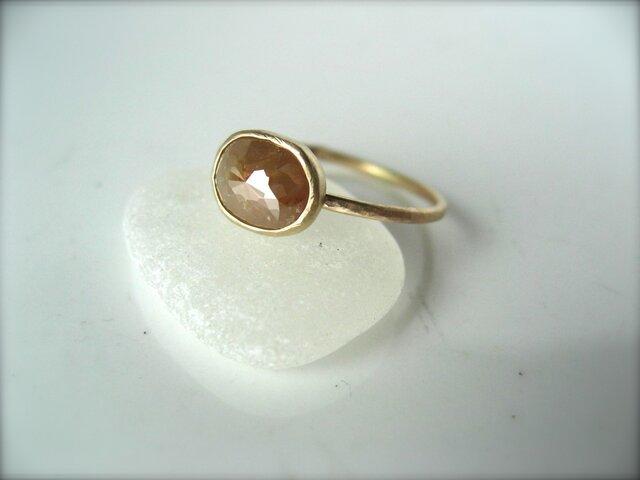 Beige Diamond Ring for kaiyuの画像1枚目