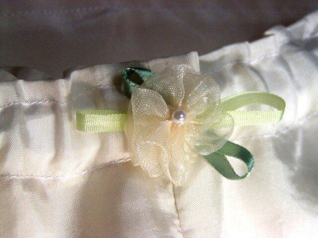 和装肌着 絹のローライズパンツタイプ裾よけ(ステテコ型)の画像1枚目