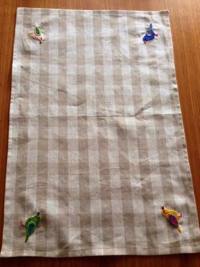 Tさまオーダー☆リネンのテーブルクロスの画像1枚目