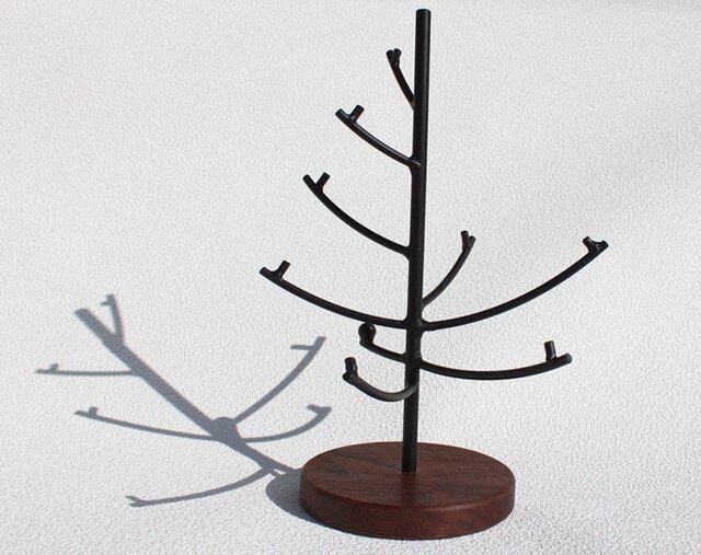 鉄×木 ツリー ウォールナット材の画像1枚目