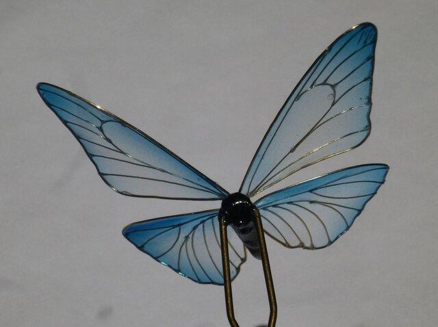 6a17c13570e209 蝶の簪 モルフォチョウ(再販) | 工房 いつ穂 | ハンドメイド通販 iichi ...