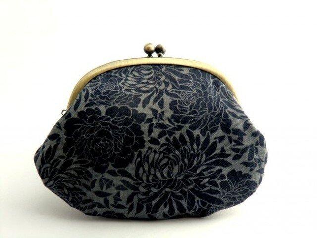 【受注制作】chrysanthemum - がま口ポーチの画像1枚目