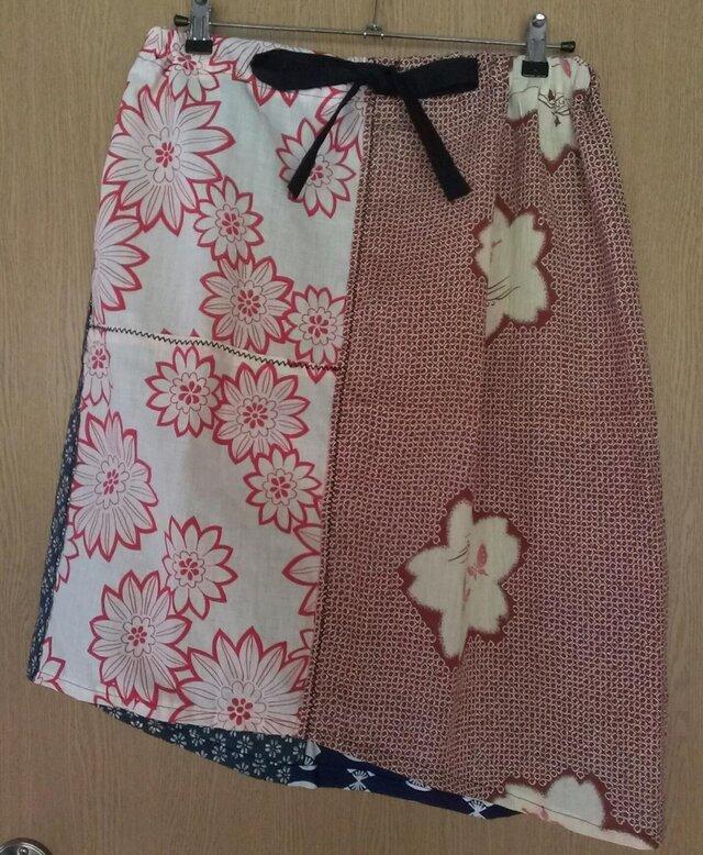 浴衣地スカート 140801-01の画像1枚目