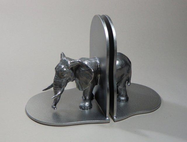 象のブックエンドの画像1枚目