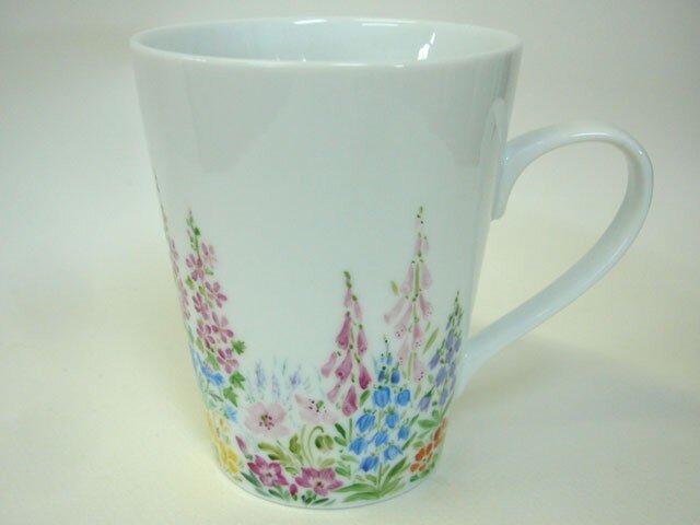 「草花の庭」マグカップ(3)の画像1枚目